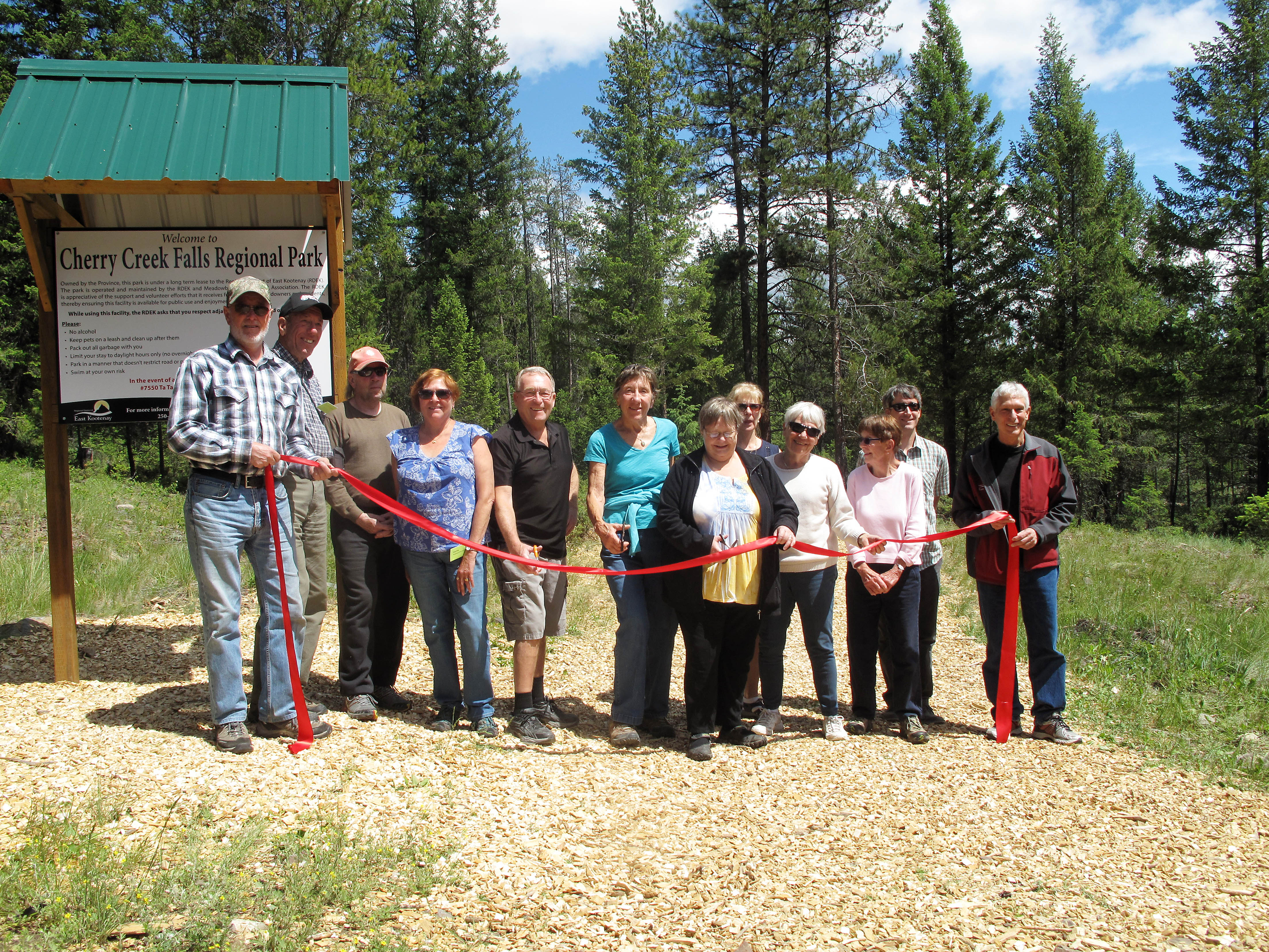 Cherry Creek Falls Regional Park Officially Opened